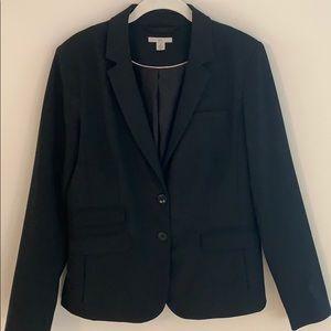 GAP stretch blazer in black.
